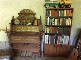 Pump organ and great books