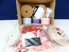 Assorted Ribbons Crafting Lot