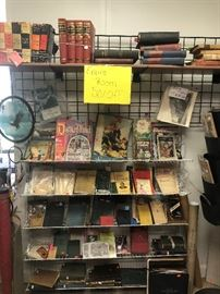 older and collectable books and book sets, *50% off*