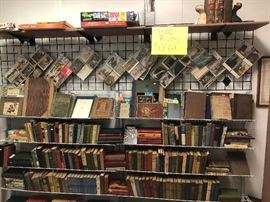older books and postcards *50% off*