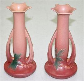 Pair of Roseville Vase