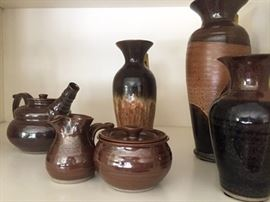Local handmade pottery