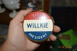 Elect Willkie President Compact