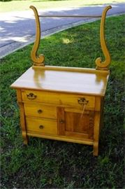 American Victorian Wash Stand