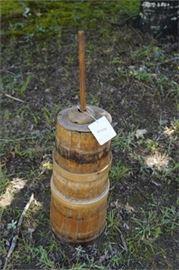 Antique Pine Butter Churn