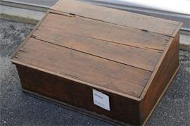 Antique Pine Traveling Desk