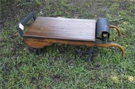 Antique Portable Hand Truck Scale