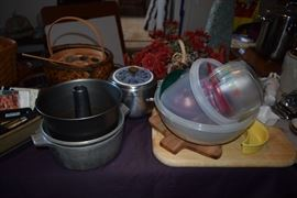 Bakeware, cookware, food storage containers