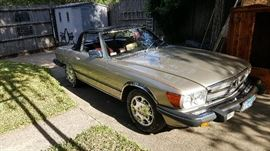 1986 Mercedes 5260SL