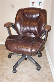 Leather offie chair