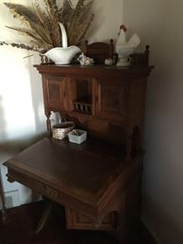 a rare find -- 18th-century secretary