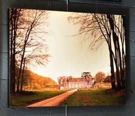 Box Mounted Photograph. 3 x 4 feet.