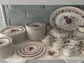 Wedgewood cornflower pattern set of 16, 95.00 for ALL