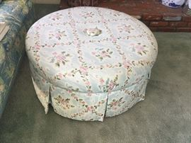 Three feet wide ottoman Cossack with extra fabric. $25.00