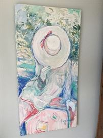Large original painting $65.00