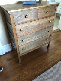 wonderful hand finished chest of drawers