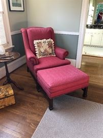 wonderful chair and ottoman for sale