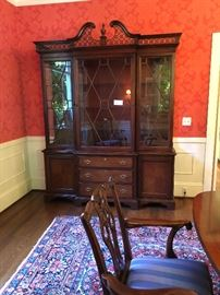 "Gorgeous Lexington Hutch 72""w x 18.5"" d x 94""h asking $800"