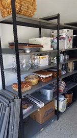 steel garage shelves