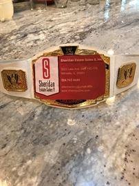2017 Estate Sales Championship Belt