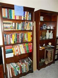 Bookshelves, good books, decor