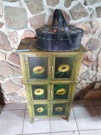 Sunflower cabinet.