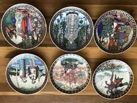 Villeroy & Boch Russian Fairy Tale Collector Plates