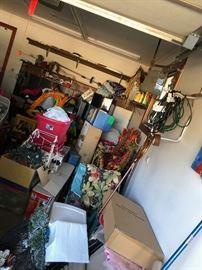 garage overflowing