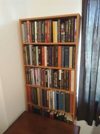 Book shelves are available
