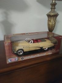 some collectible cars still on box