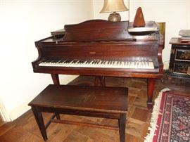 """Sargent"" Baby Grand Piano by Baldwin - 1935"