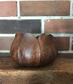 Teak Blossom Bowl/Planter
