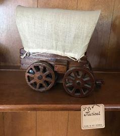 Gorham Covered Wagon Music Box