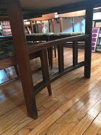 Legs of the mid century table