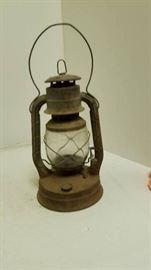 Antique Lantern with good glass