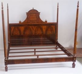 Italian Genovese Four Poster Bed King Bed