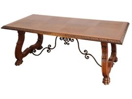 Spanish Renaissance Style Refectory Table