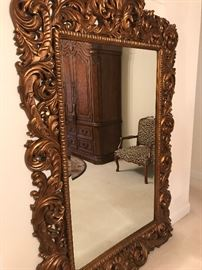 Over-sized Entry Mirror