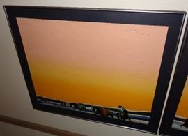 Earl Biss (diptych) serigraph