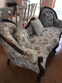VICTORIAN STYLE SOFAS-2 AVAILABLE