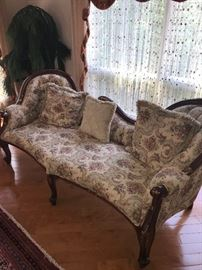 VICTORIAN STYLE FLORAL SOFAS - 2 AVAILABLE