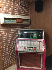 Coors Beer Sign - Seeburg 45 Jukebox