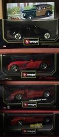 Burago Model Cars Still in Boxes