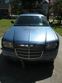 2007 Chrysler 300M with 60,600 miles.  Taking sealed bids during the hours of tale.  Minimum acceptable bid is $6000.  Highest qualifying bid gets the car