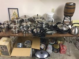 Faberware, Circulon, and other cookware / pots and pans