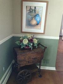 Tea Cart, Art