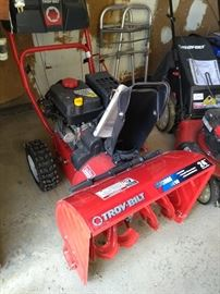 "Troy Bilt 24"" Snow Thrower"