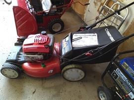 Troy Bilt Lawnmower