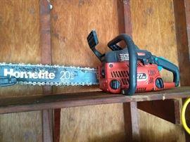 "20"" Chainsaw"