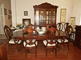 DR SET, CHINA CABINET, BUFFET SERVER